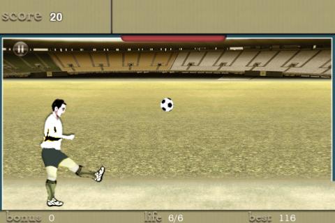 Screenshot Soccer Hitter