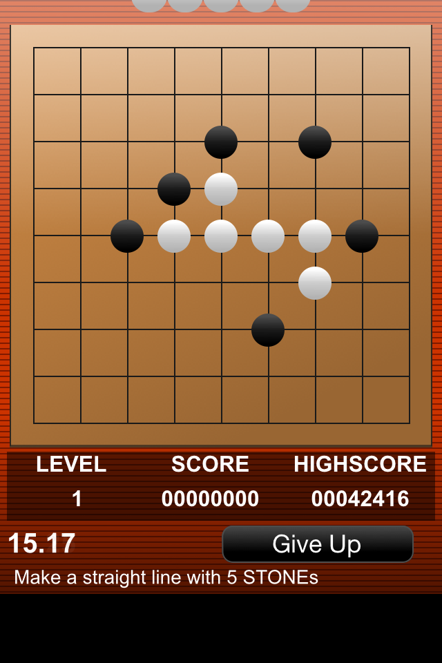 Screenshot Speed-Gomoku