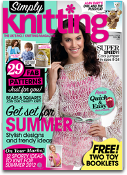 Simply Knitting: the best knitting magazine for patterns and designs